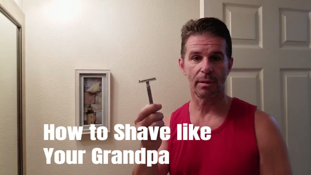 HOW TO SHAVE LIKE GRANDPA