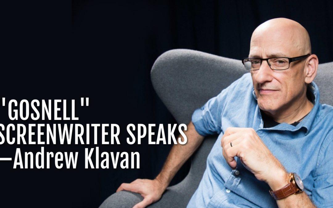 "100: ""Gosnell"" Screenwriter Speaks—Andrew Klavan"