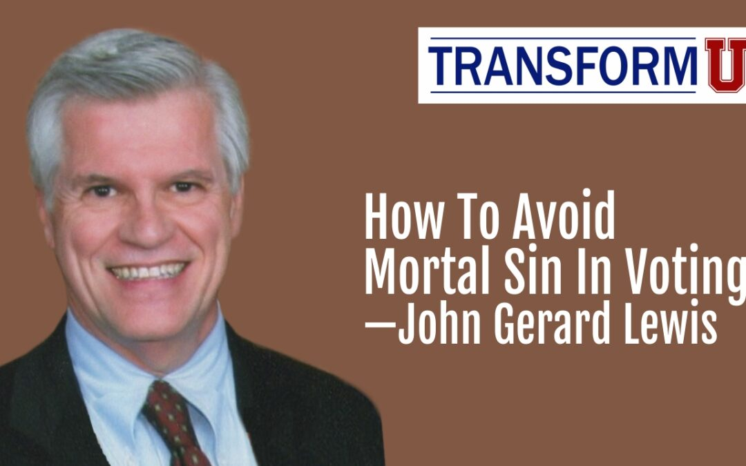 TransformU—How to Avoid Mortal Sin In Voting