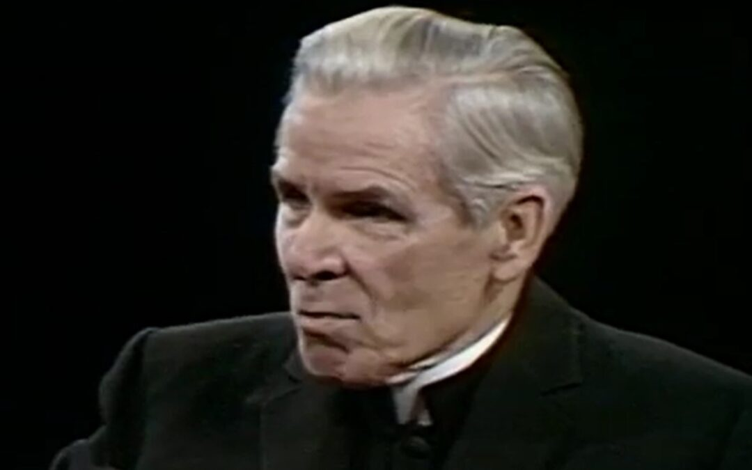 Fulton Sheen and the Outcome of the Sexual Revolution